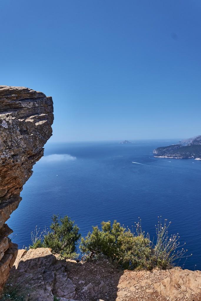 Route des Crêtes, Steep Rock Face