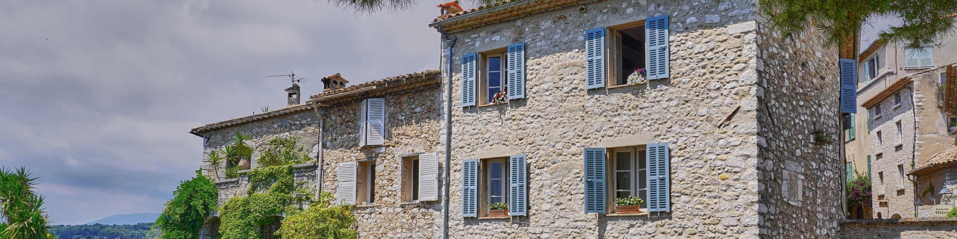 Beautiful stone houses