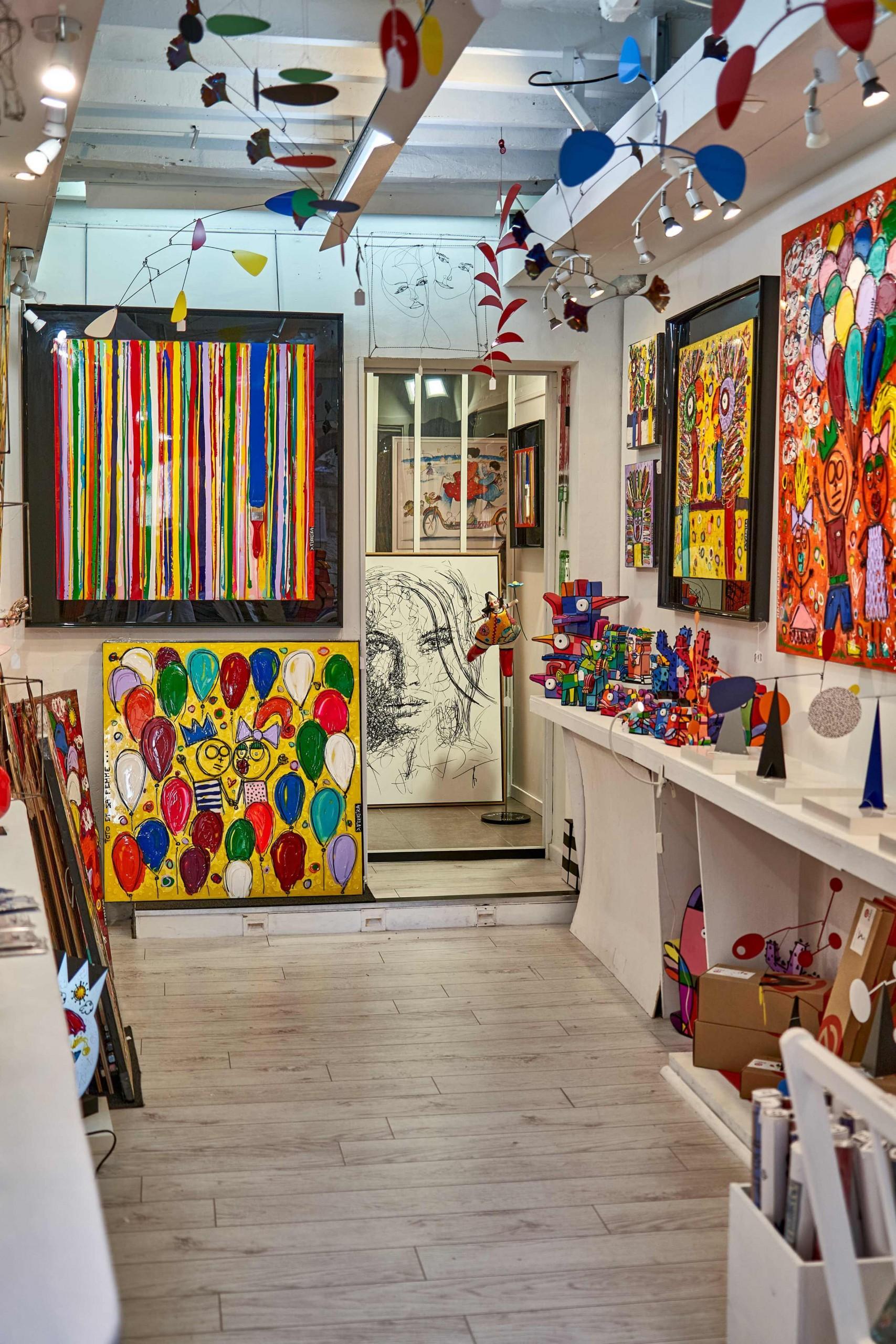 art gallery in Art Village Of Saint-Paul-de-Vence