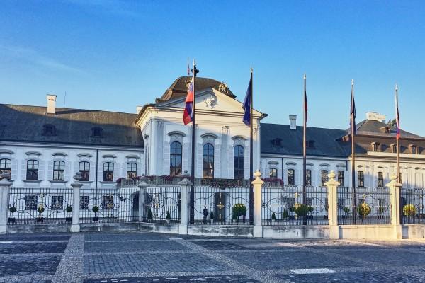 Grassalkovich Palace in Bratislava; Bratislava Old Town; Things to do in Bratislava Old Town