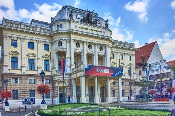 Slovak National Theatre; Bratislava Old Town; Things to do in the Bratislava Old Town