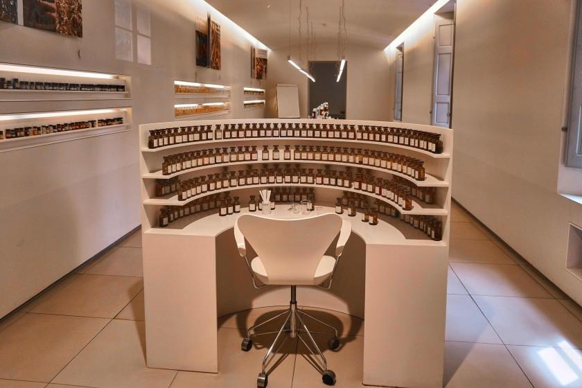 The Nose's laboratory ; La Nez; world capital of perfumes