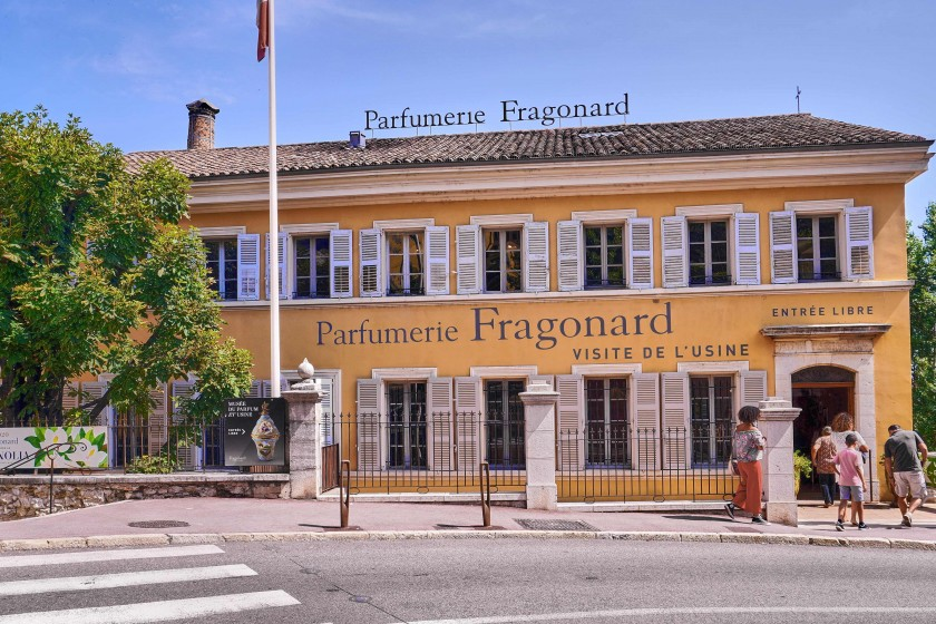 Perfumer Fragonard in the world capital of perfumes, Grasse