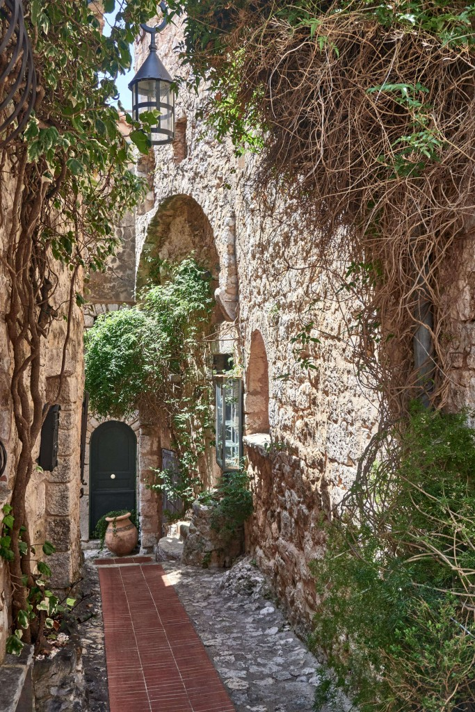 Narrow Alleys in Eze Village, Provence France