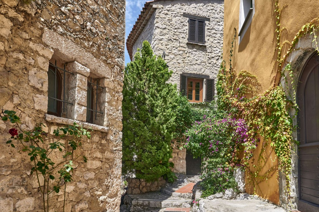 Narrow Alleys in Eze Village