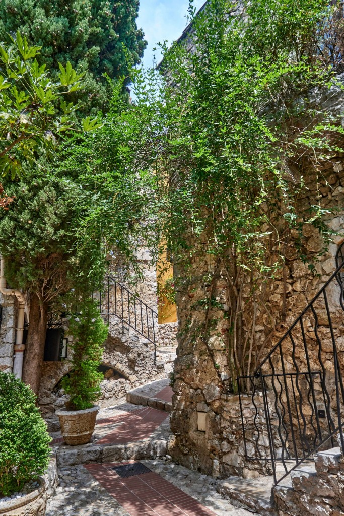 Things to Do in Eze Village; The green façades in Eze Village France