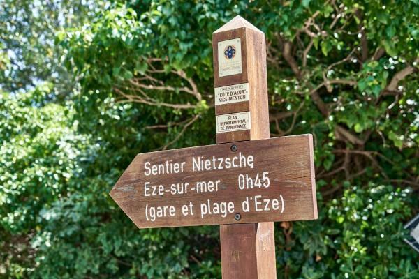 Sentier Friedrich-Nietzche
