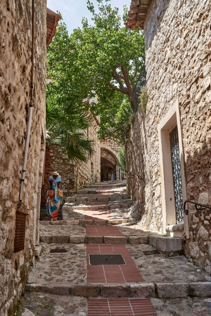 Things to Do in Eze Village; Narrow Street in Eze Village