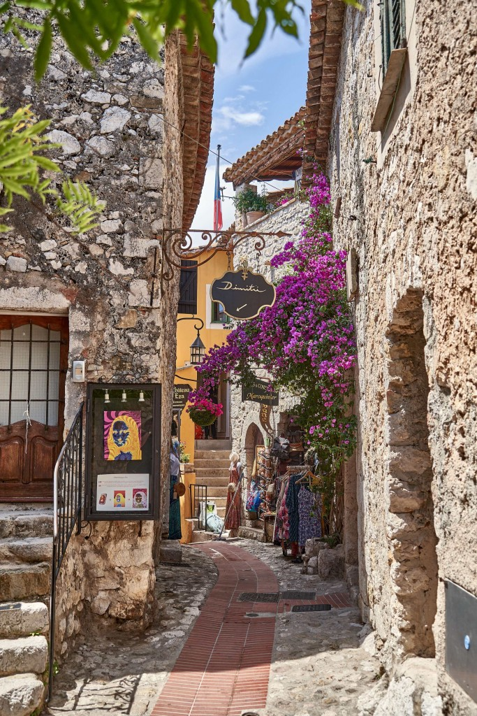 Day trip to Eze Village;Things to Do in Eze Village; Narrow Alley in Eze Village