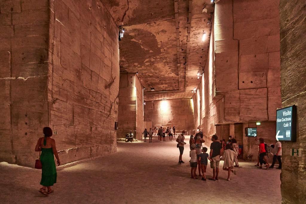 Les Carrières de Lumières; Open-Air Museums in Les Baux de Provence