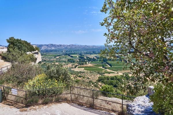 View from Chateau de Baux