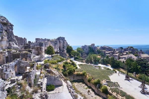 Chateau de Baux; Open-Air Museums in Les Baux de Provence