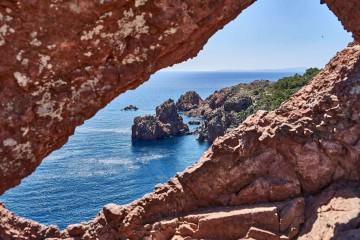 Cap du Dramont;Coastal Trails on French Riviera