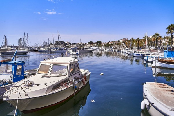 Harbour in Bandol, one of the biggest in France