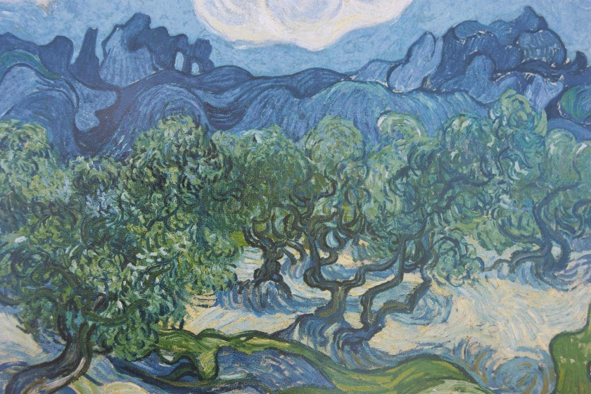 a reproduction of Van Gogh's artwork