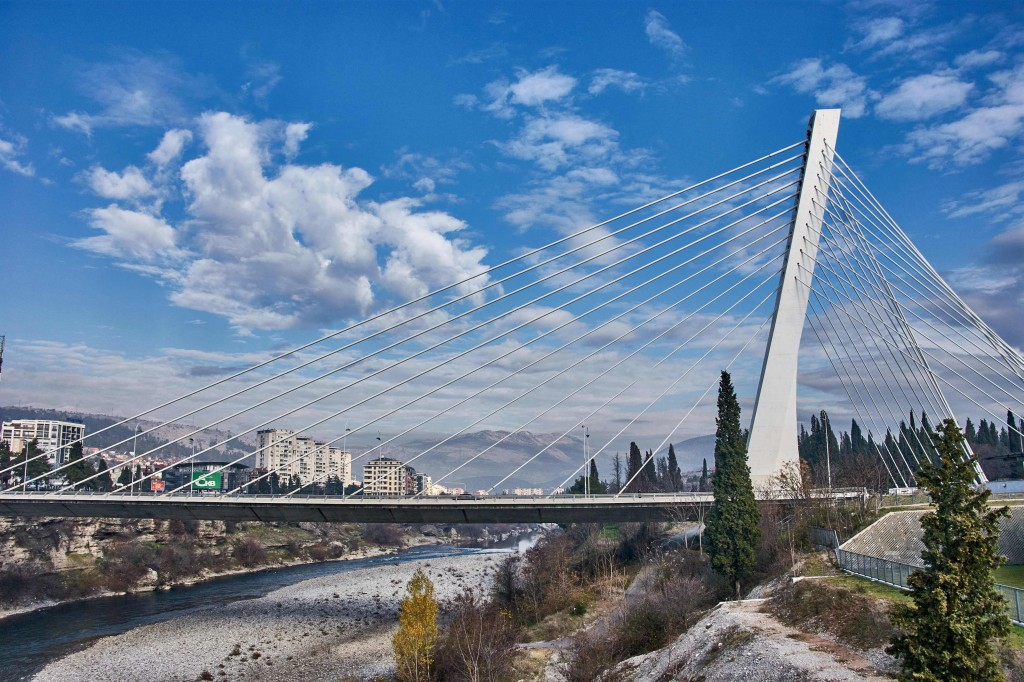 Millennium Bridge in Podgorica