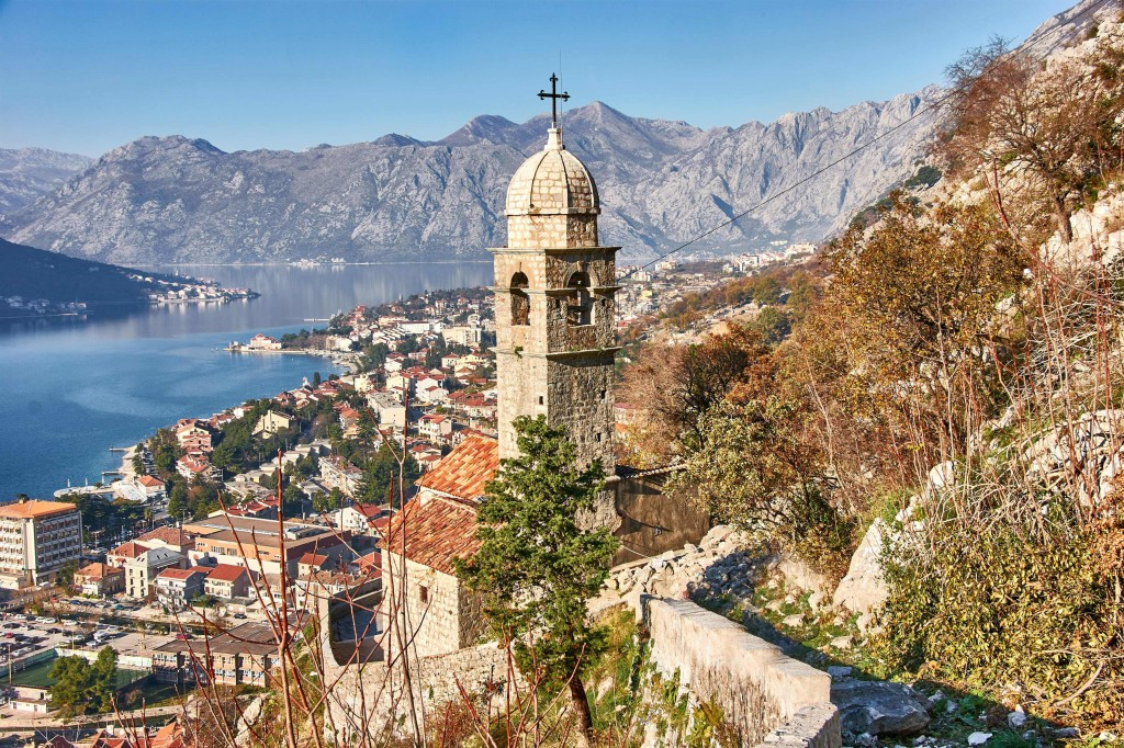 Upper walls in Kotor old town; Montenegro Itinerary