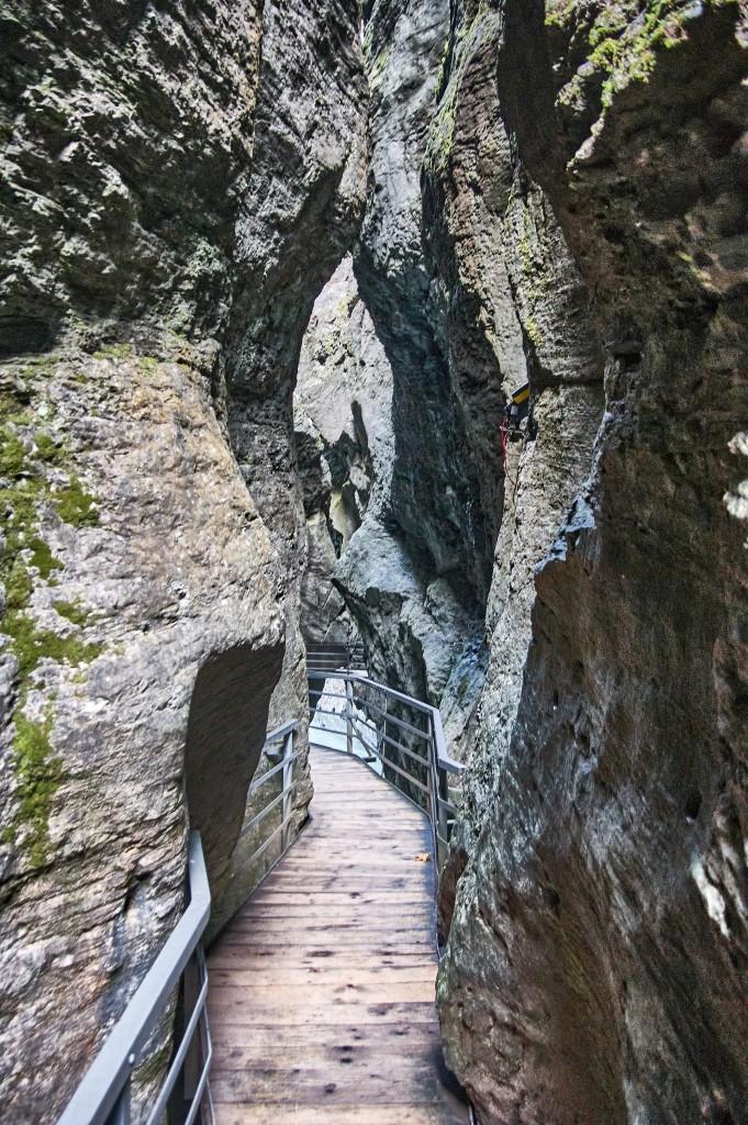 Aare Gorge (Aasrenschluct), Switzerland
