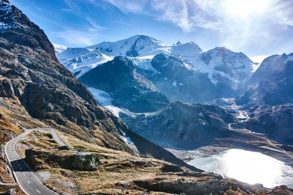 Susten Pass, Switzerland;