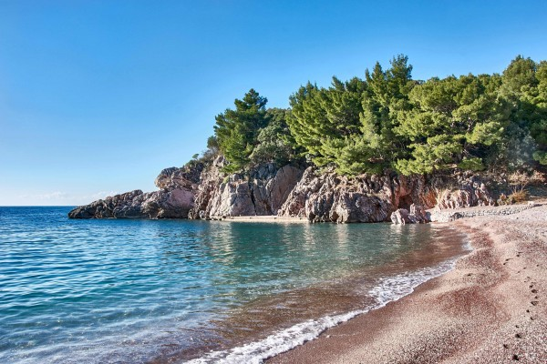 Milicer Beach, Adriatic Coast