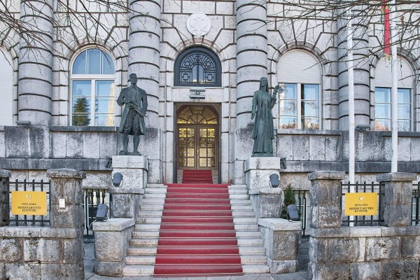 Historic Building in Cetinje, Montenegro