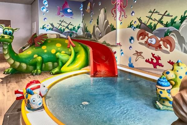 Kid pool in the SPA of Falkensteiner Katschberg