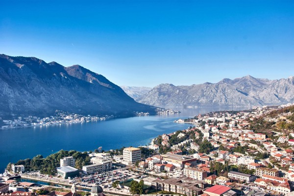 View of the Kotor Bay