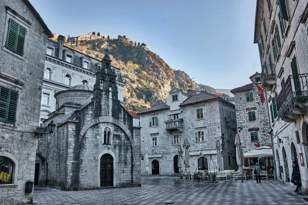 Kotor Old Town Square