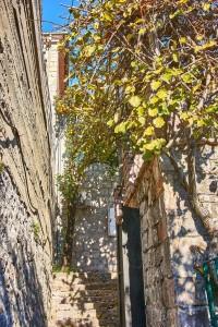 Narrow Alley in Perast Montenegro