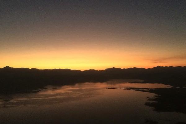 Sunset in Podgorica