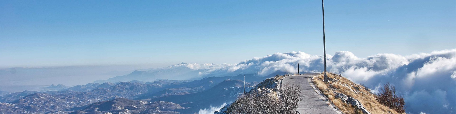 Spectacular View of Lovćen national park
