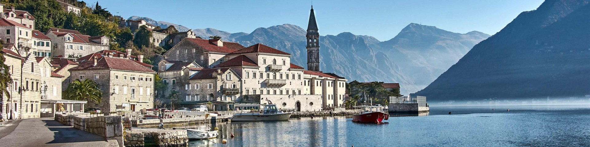 Perast, the Most Beautiful Town in the Kotor Bay