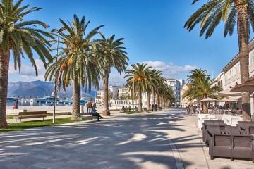 promenade of Tivat