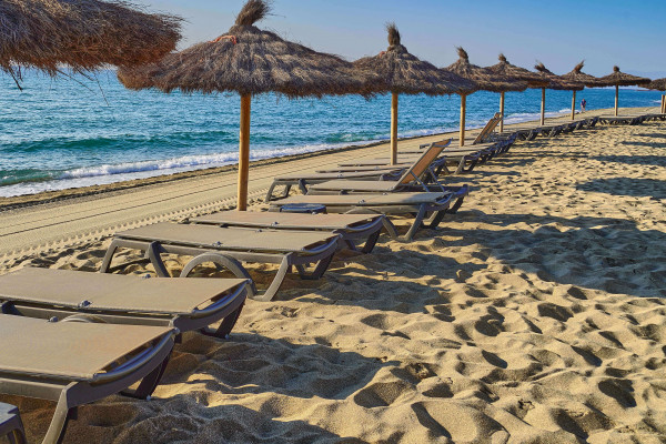 Le Barcarès has several kilometres of flat sandy beach