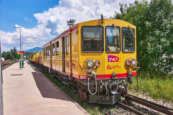 Yellow Train; the Pyrenees itinerary