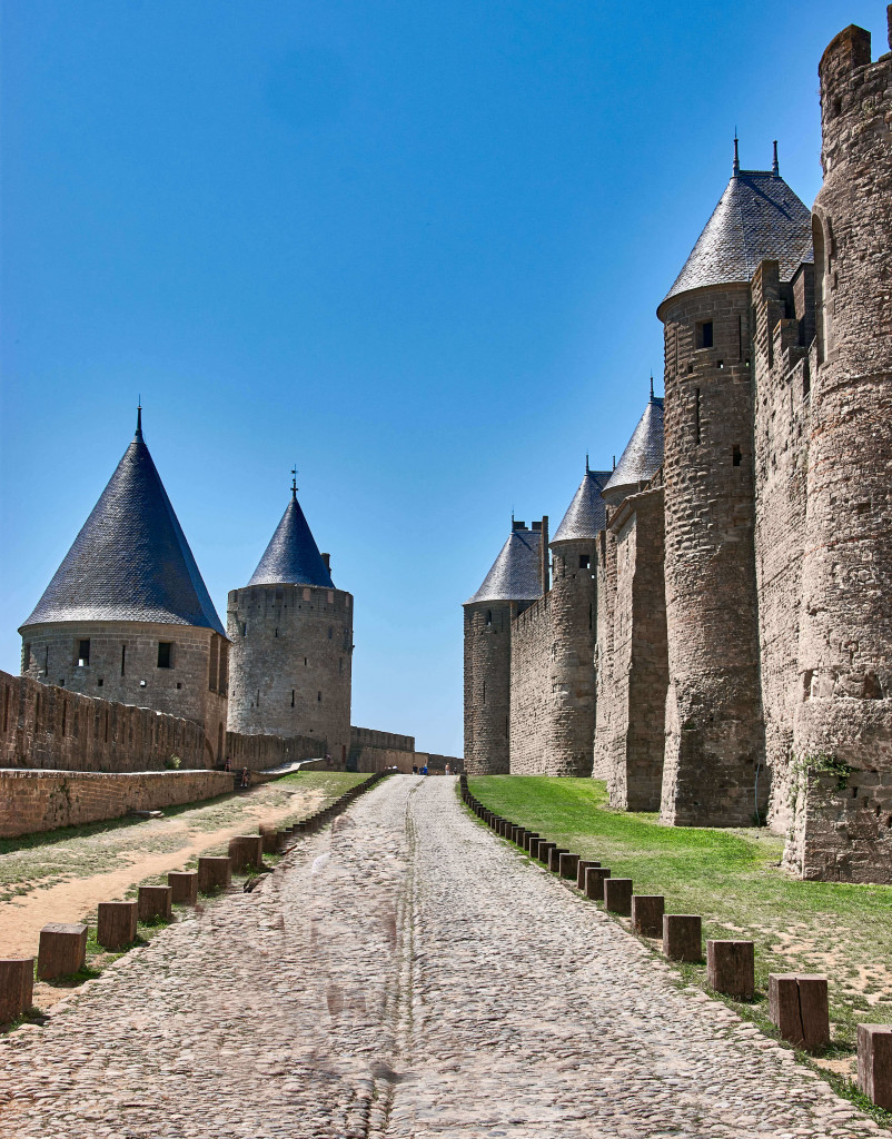 Carcassonne; the Pyrenees itinerary
