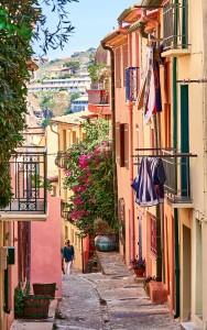 Rue Mirador, part of the Collioure Walking Tour