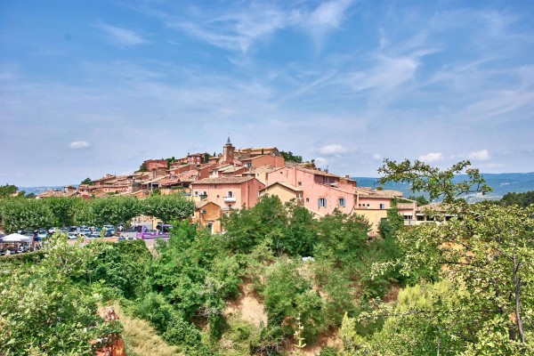 The Hilltop Village Roussillon , Provence