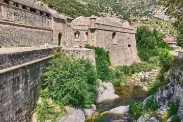 Walled Hilltip Village Villefranche-de-Conflent