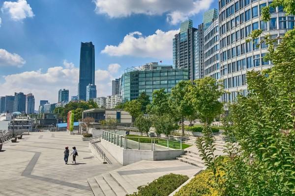 Shanghai Riverside Promenade, Hongkou district