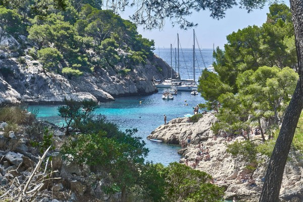 Calanques de Cassis;Coastal Trails on French Riviera