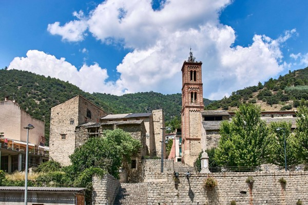 Town Hall in Olette, a small town not far from Villefranche-de-Conflent