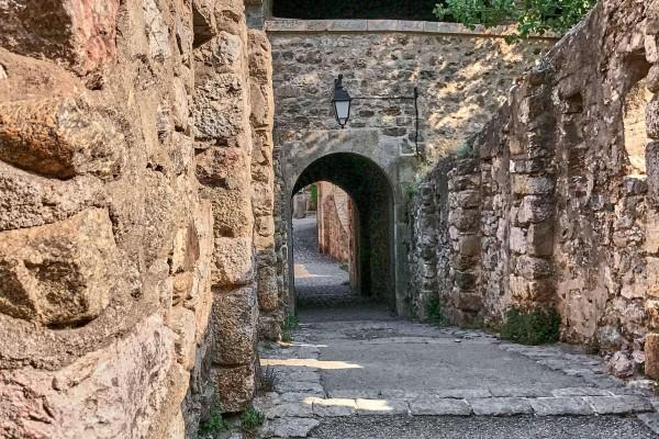 The lovely stone bridge Saint Pierre, Villefranche-de-Conflent