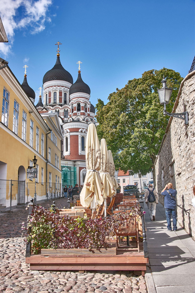 Alexander Nevsky Cathedral in Tallinn; Baltic road trip itinerary