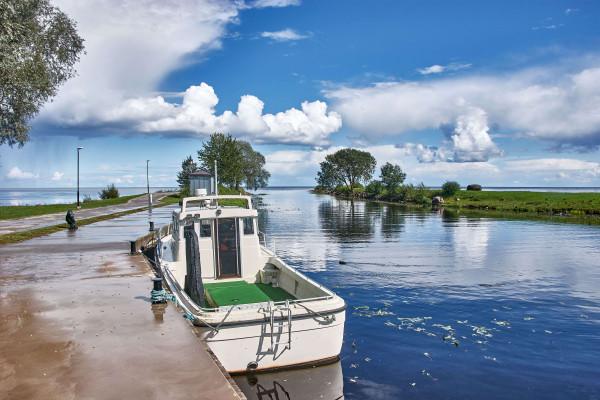 Lake Peipus, Estonia