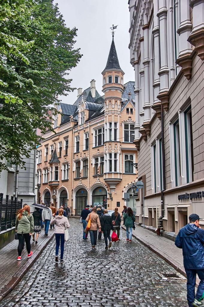 Riga Old Town, Latvia; Baltic Road Trip Itinerary