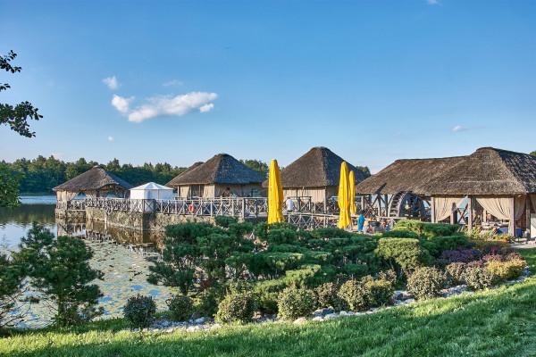 Bora Bora Restaurant of the Vilnius Grand Resort, Lithuania