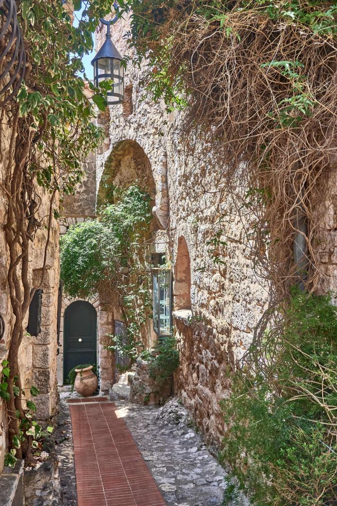 Secret street in Eze Village