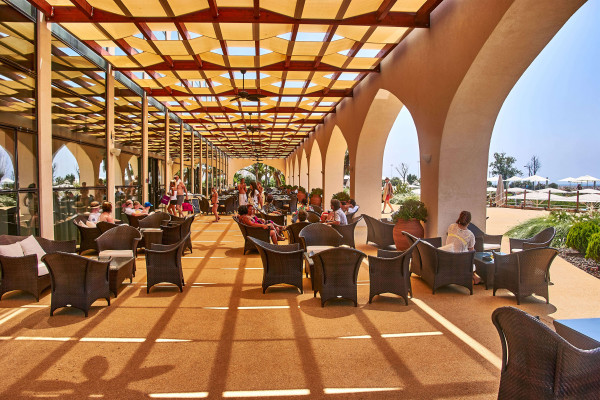 Terraced Restaurant from Crowne Plaza Vilamoura