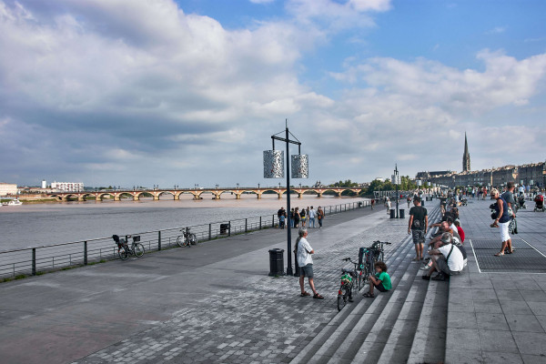 Bordeaux; Stopover during The Two-Week Road Trip to Portugal
